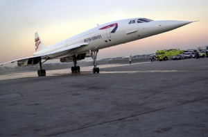 Concorde Makes Farewell Visit To Boston
