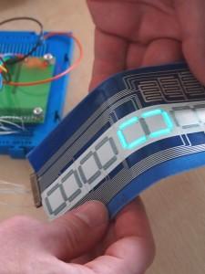 Smart fabrics watch