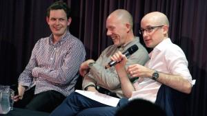 Robbie Rice, Brian Luff, Reuben Wilcock