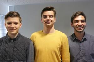 Maciej Szpakowski, Przemek Zientala, Mauro Cozzi